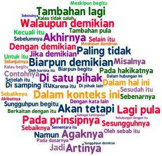 Jenis Kata Penghubung (konjubgsi) Dalam Bahasa Indonesia